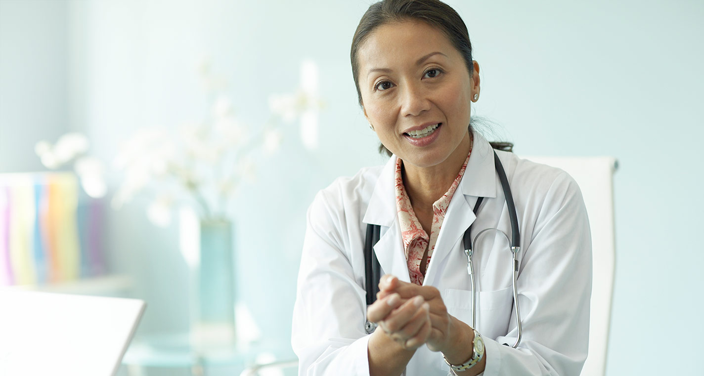 Caring Female Doctor