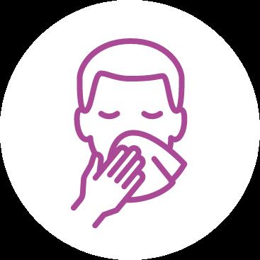 Practice good respiratory etiquette