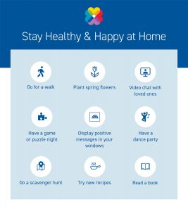 Stay Healthy & Happy at Home