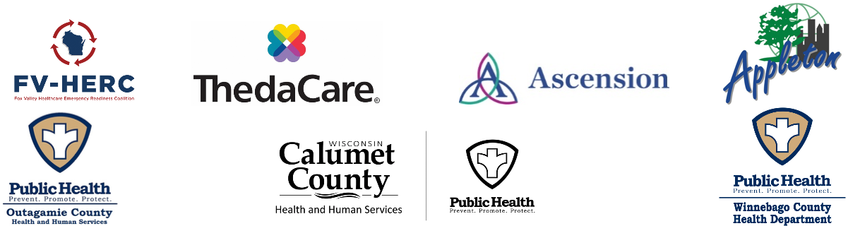 local healthcare and Governemental logos