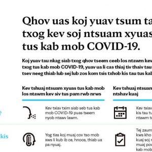 Translating COVID-19 facts for diverse community members