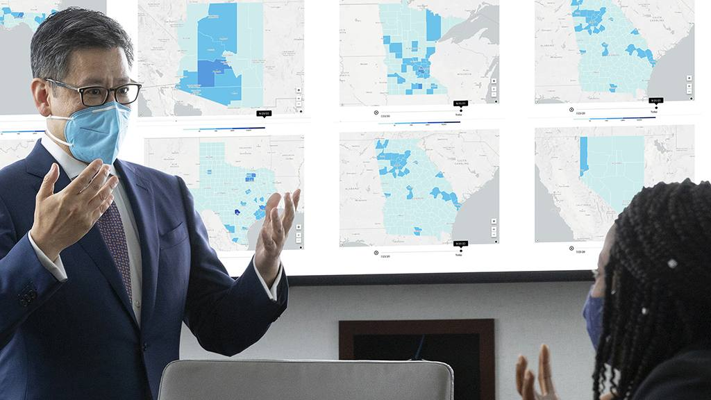 Mayo Clinic Q&A podcast: US coronavirus map — what do the trends mean for you?